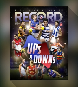 AFL Record Cover Competition 2016