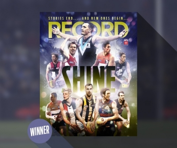 AFL Record Cover Winner